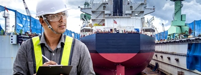 Shipbuilding Company Keeps Processes in Check with Touchless Temp Solution
