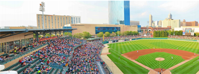 Sharp TVs and Multifunctional Printers are a Hit with Indianapolis Indians Baseball Team