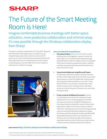 The Future of the Smart Meeting Room is Here