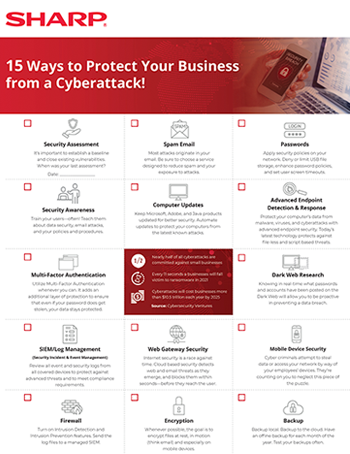 15 Ways to Protect Your Business from a Cyberattack!