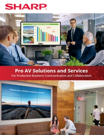 Pro AV Solutions and Services for Productive Business Communication and Collaboration