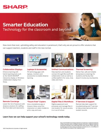 Smarter Education Technology for the Classroom and Beyond