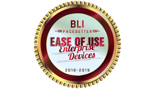 BLI PaceSetter in Ease of Use