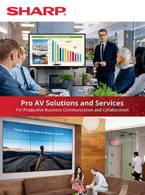Pro AV Solutions and Services Brochure