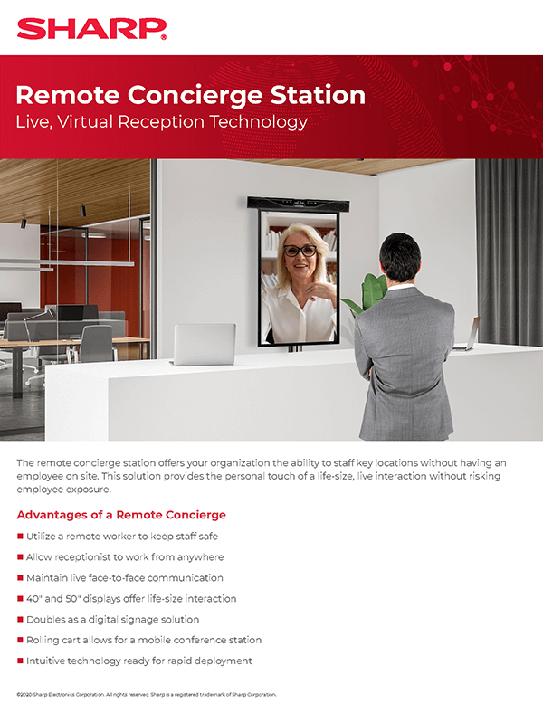 Remote Concierge Station Flyer