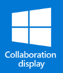 Windows collaboration display logo