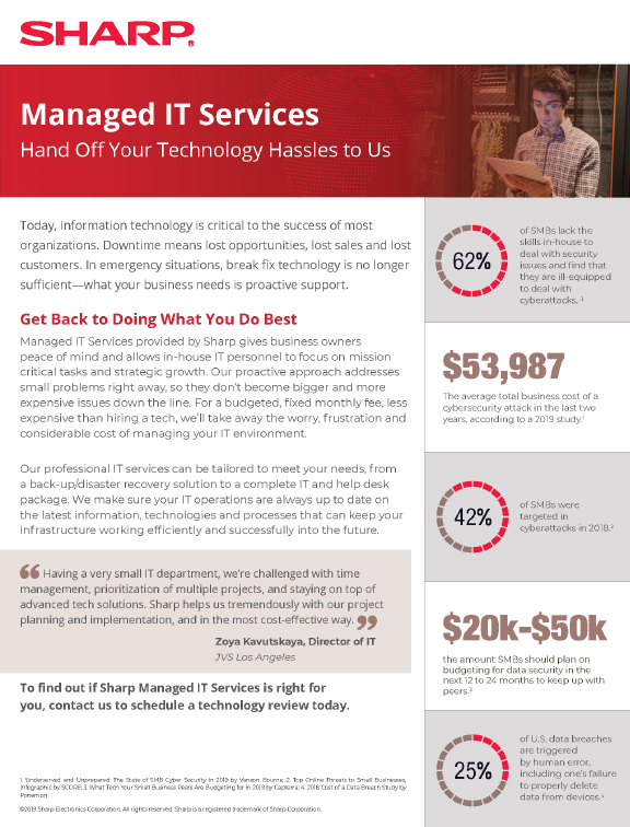 More about Managed IT Services