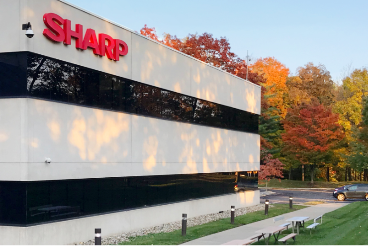 Image of outside of Sharp Office in Montvale