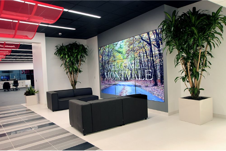 Image of front Lobby in Sharp Office in Montvale