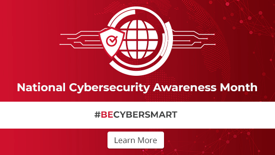 Be Cybersmart - National Cybersecurity Awareness Month